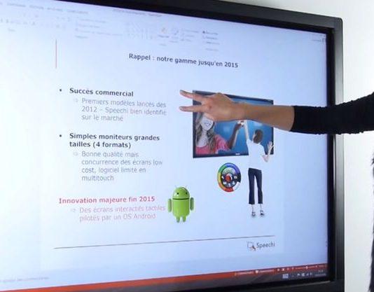 écran interactif sous android