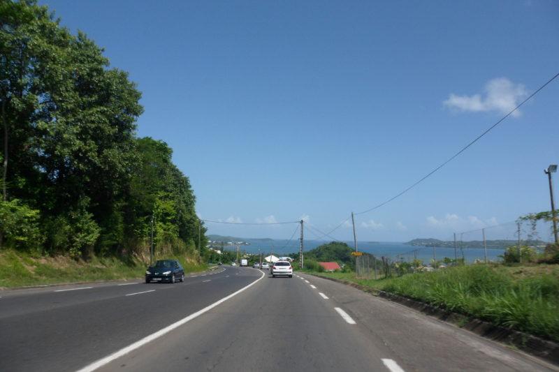 routes en Martinique